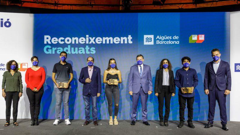 Se gradúa la primera promoción del programa Beques Joves Talents de Aigües de Barcelona