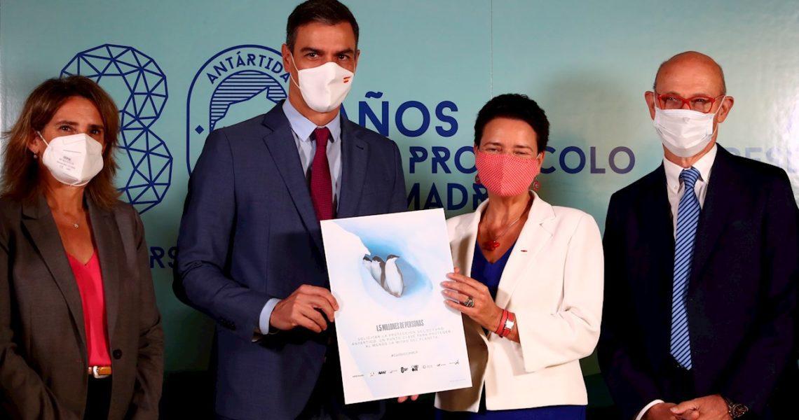 El mundo escenifica en Madrid su compromiso con la Antártida