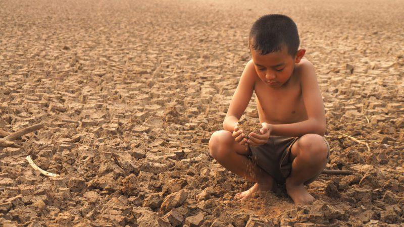 Las sequías de El Niño llevaron a seis millones de niños a la desnutrición